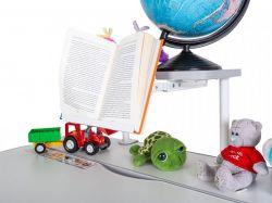 Детский стол Mealux Edmonton Multicolor Lite с полкой