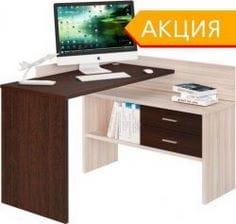 Компьютерный стол с тумбой СКМ-120