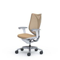 Кресло для дома и офиса Okamura Sabrina c 4D подлокотниками