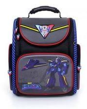 Темно-синий ранец Hummingbird Sky Heroes для мальчика (K108)