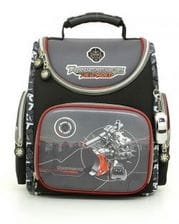 Черный ранец Hummingbird Transforobots Reloaded для мальчика (K49)
