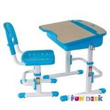 Комплект парта для дошкольника и стул FunDesk Capri
