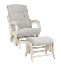 Кресло для кормления Milli Style с пуфом