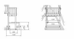 "Столик с 2-мя лавочками ""Самсон"" для ДИП «Бретань»"