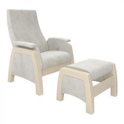 Кресло для кормления Milli Sky с пуфом