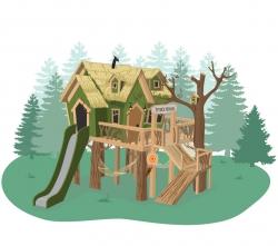 Детский игровой домик Питера Пэна