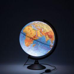 Глобус Земли физический Globen 320 мм с подсветкой Классик