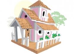 Двухэтажный домик «Принцессы»