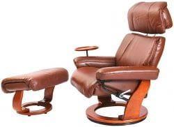 Кожаное кресло-реклайнер Relax Piabora