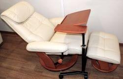 Кожаное кресло-реклайнер Relax Ularia