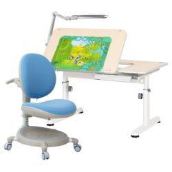 Комплект RIF 4: Парта-Трансформер R6-XS + Кресло Z.MAX-05 + Светильник TL11S