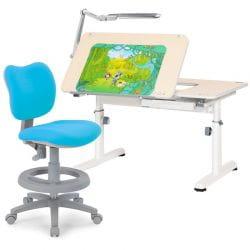 Комплект RIF 3: Парта-Трансформер R6-XS + Кресло Kids Chair + Светильник TL11S