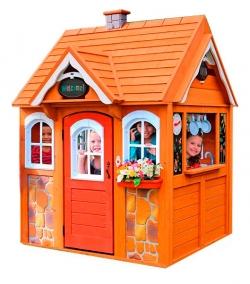Игровой домик SOLOWAVE DESIGN Цветочный домик Люкс