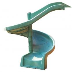 Горка пластиковая спиральная Playgarden