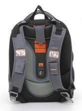 Черный ранец Hummingbird Wolf Style для мальчика (T5)