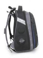 Черный ранец Hummingbird Spidy Style для мальчика (T6)