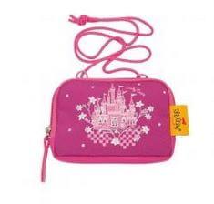 """Школьный ранец X-Light """"Сказочный замок"""", спортивная сумка, два пенала и кошелек"""