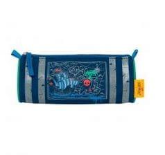"""Школьный ранец X-Light """"Пиратский корабль"""", спортивная сумка, два пенала и кошелек"""