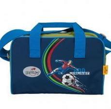 """Ранец ErgoFlex """"Футболист"""", спортивная сумка, два пенала и папка-бокс"""