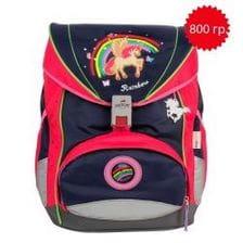"""Ранец ErgoFlex """"Радуга"""" со светодиодами, спортивная сумка, два пенала и папка-бокс"""