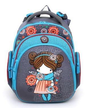 Ранец для первоклассника Hummingbird Princess Blossom (TK19)